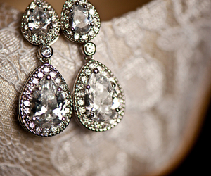 diamond, earrings, and accessories image