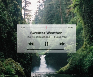 song, sweater, and ❤️ image