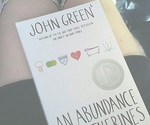 black, book, and john green image