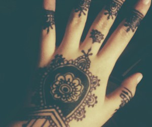 drawing, indie, and henna image