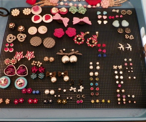 accessories, earrings, and awesome image