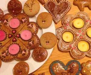 Cookies and heart image