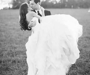 wedding, love, and kiss image