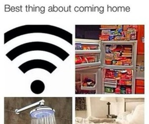 wifi, shower, and food image