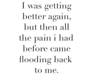broken and pain image