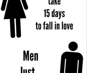 love, men, and women image