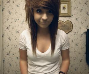 girl, crosscourtneyat, and hair image