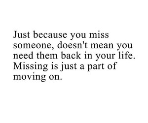 life, move on, and quotes image