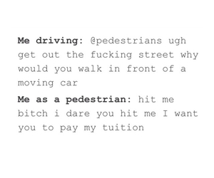 driving, funny, and life image