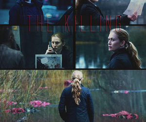 the killing, mireille enos, and sarah linden image