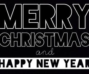 christmas, happy, and merry christmas image