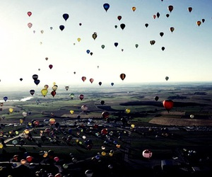 balloon and indonesia image