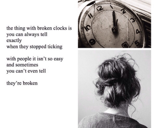 broken, quote, and people image