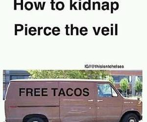 pierce the veil and tacos image