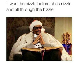 merry christmas, no chill, and snoop dog image