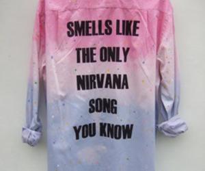 nirvana, shirt, and song image