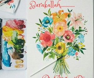 bouquet, colorful, and greeting image