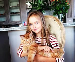 cat, kristina pimenova, and pretty image
