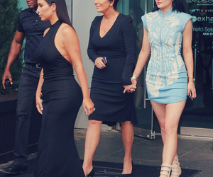 kim kardashian, kylie jenner, and kris jenner image