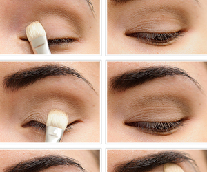 makeup, eye, and tutorial image