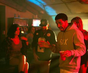 Drake and kylie jenner image