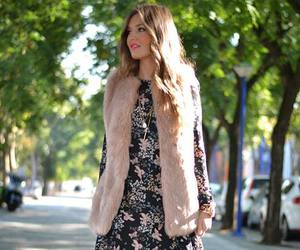 faux fur and vest image