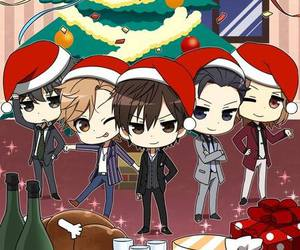 chibi, christmas, and voltage inc image