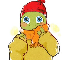 mikey, orange, and so cute image