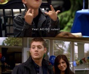 supernatural, dean winchester, and ac dc image