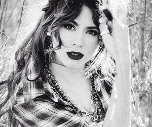 black and white, martina stoessel, and violetta image