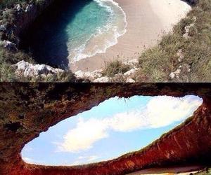 mar, playa, and paraiso image