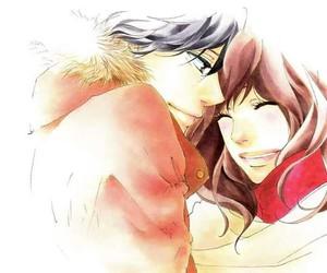 anime, ao haru ride, and couple image