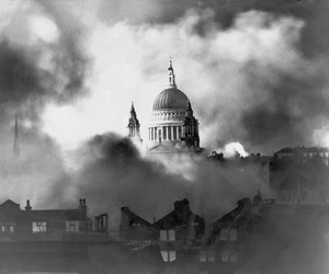 london, wwii, and blitz image