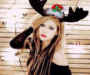 happy christmas, love, and Avril Lavigne image