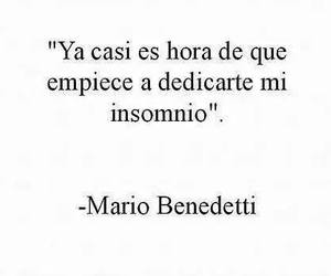 insomnio, frases, and love image