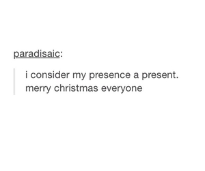 lol, merry christmas, and present image