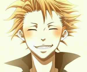 blush, smile, and shuusei kagari image