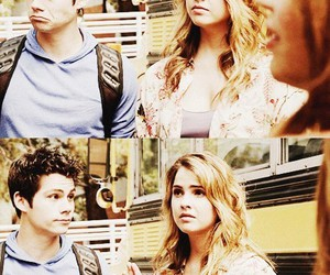 teen wolf, malia tate, and stiles stilinski image