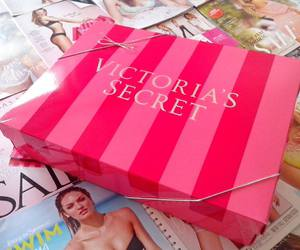 christmas, pink, and Victoria's Secret image