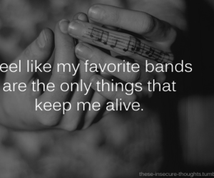 band, music, and alive image