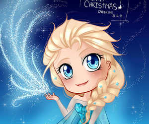 disney, frozen, and merry christmas image