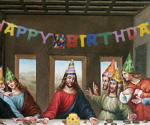 jesus, birthday, and christmas image
