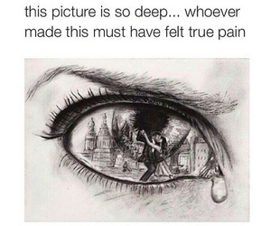 pain, crying, and deep image
