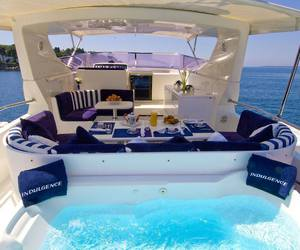 boat, fancy, and luxurious image