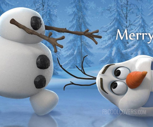 christmas and olaf image