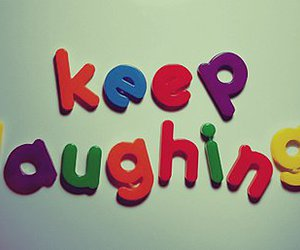 laugh, laughing, and quotes image