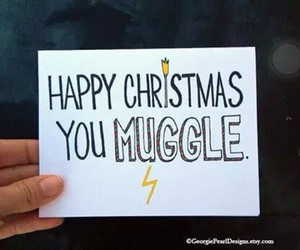 christmas, harry potter, and muggle image