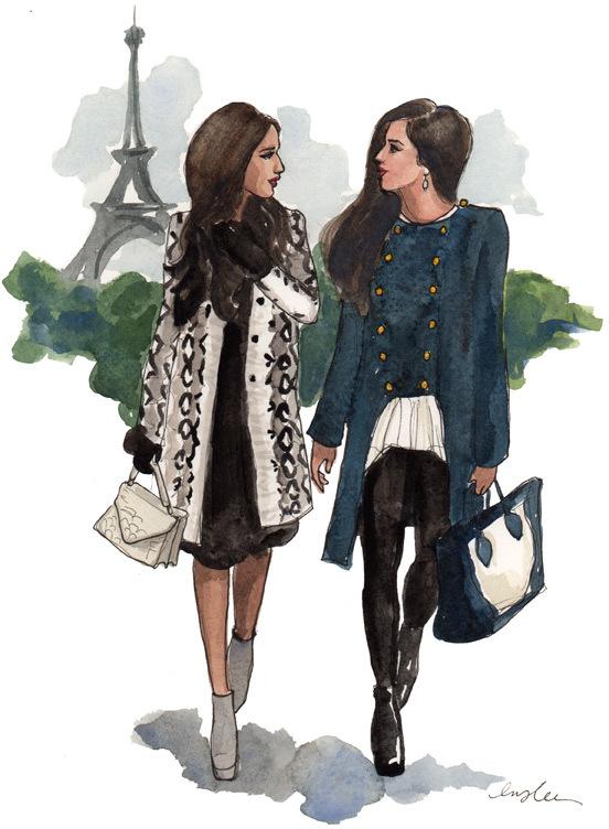 paris, drawing, and sketch image