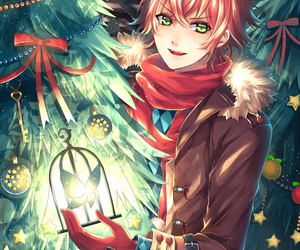 diabolik lovers, anime, and christmas image