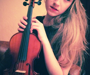 music, violin, and musician image